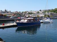 45ft Steel Hull Cruiser Boat