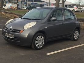 2003 NISSAN MICRA 1.2 AUTOMATIC * 5 DOOR * LOW MILEAGE * 1 YEAR MOT * PART EX WELCOME * DELIVERY *