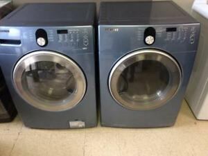 54-  Laveuse Sécheuse Frontales  SAMSUNG Frontload Washer Dryer