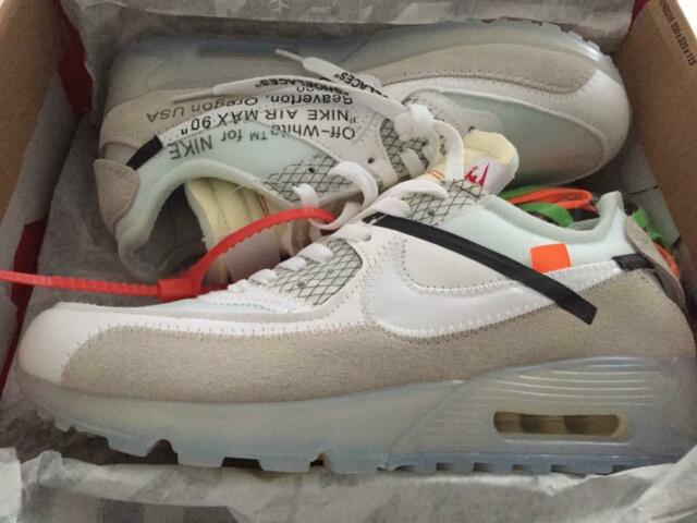 Nike air max 90 Off white   in Corby, Northamptonshire   Gumtree