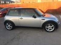 MINI COOPER 1.6 2003.SAT NAV.LEATHER.EXELLENT CONDITION.PX/SWAPS