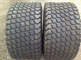 NEW -Grass/Turf Tyres (pair)- Goodyear - 26x12.00-12NHS- New !