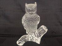 Waterford crystal owl