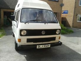 Volkswagen Campervan T25 - MOT until April 2019