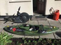 Pyranha burn kayak 'Mission'