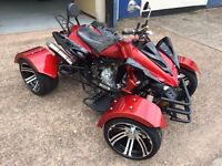 BRAND NEW 2017 300CC ROAD LEGAL AUTOMATIC QUAD BIKE ASSEMBLED IN UK DELIVERY AVAILABLE