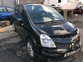 2007 Renault Modus Damaged repairable non recorded
