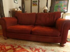 Large chesterfield style sofas