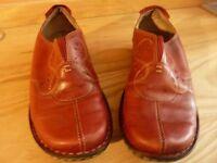 Shoes – Ladies Oxblood Flat Shoes Size 7/41