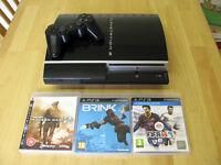 PlayStation 3 250GB Bundle - Includes FIFA14, BRINK, and Call Of Duty MW2