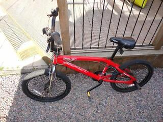 hi i have 2 bmx bikes in good order everything working £25 each or both for £45 .