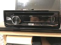 JVC CAR VAN STEREO - USB AUX CD DVD RADIO - INCLUDES ADAPTER