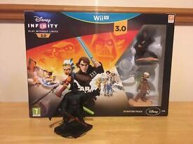 Disney Infinity 3.0 Wii U Starter Set + Darth Vader Disney Infinity Figure. Collection only.