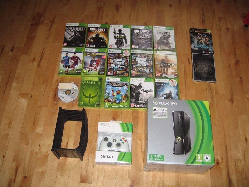 X Box 360 250GB bundle