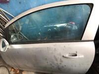Grey Passenger door ( Vauxhall Corsa 2008 )