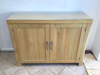 Solid Oak large sideboard