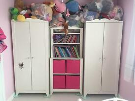 Wardrobe And Book Case