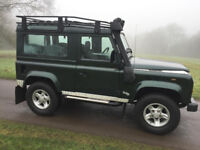 Land Rover Defender 90 County Station Wagon Td5 Epsom Green 1999
