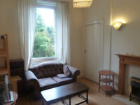 Lovely bright furnished one-bedroom flat in Gorgie