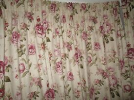 Curtains with 3inch pencil pleat top