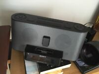 Sony Speaker clock radio