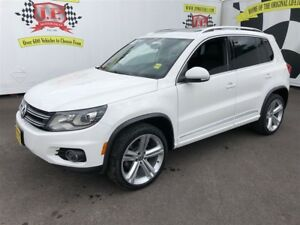 2013 Volkswagen Tiguan R Line, Leather, Panoramic Sunroof, AWD