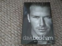 David Beckham My Side Hardback book My Autobiography The Inside Story The Real Story