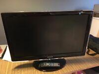 "Samsung 27"" LCD HD TV/Monitor Rose Black"