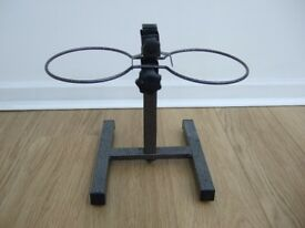 Adjustable dog bowl stand or holder