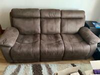 3 seater sofas x2 sets