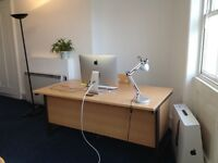 Desk spaces in spacious offices in Brighton/Hove