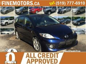 2009 Mazda MAZDA5 GS * LEATHER *HEATED SEATS  * 6 PASSENGER