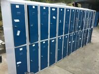 9 x 2 persons cloak room /workplace lockers (18 places) in as new condition.