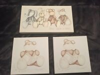 Mamas and papas canvas pieces - once upon a time range