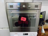 Caple gas oven buit in 3 month warranty