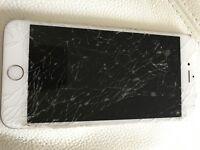 White iPhone 6 Plus