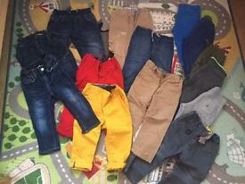 Bundle of boys clothes over 58 items size 12-18