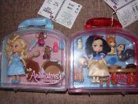 2 sets of Disney Animators' collection