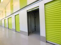Low Cost, Clean Storage Rooms with No Minimum Stay from just £3.50/wk get your 1st Month Free!
