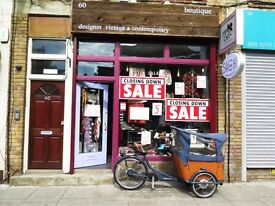 Small shop office space to rent in Hackney Islington area