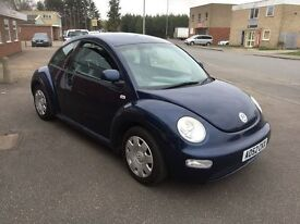 2002 Volkswagen Beetle 1.6 12 months mot/3 months parts and labour warranty