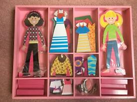Melissa and Doug magnetic dress up game - brand new