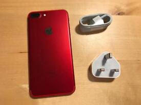 iPhone 7 Plus 128gb RED unlocked (limited edition)