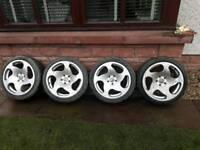 18 inch vw Audi alloy wheels pcd 5x112