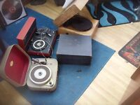 OLD RECORD PLAYERS SOLD AS SPARES