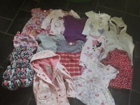 bundle baby girl summer clothes 18- 24 month