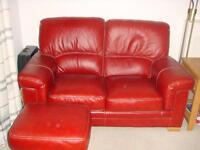 Bardi 2 seater & 3 seater Sofa's + footstool