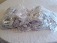 30 grey cat5e patch leads. 5 metres long.