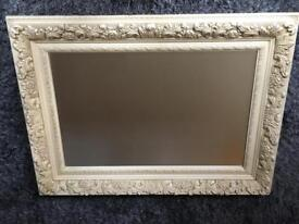 Beautiful ornate / shabby chic large mirror
