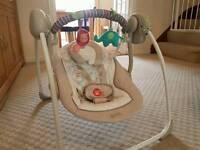 Cozy Kingdom Baby Swing Chair £25 O.N.O